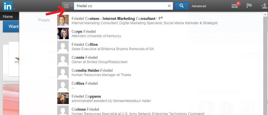LinkedIn-searchbar