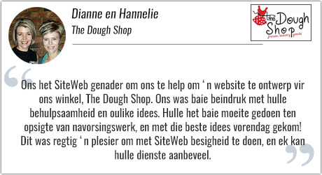 Dianne en Hannelie The Dough Shop