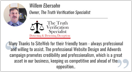 The Truth Verification Specialist Testimonial