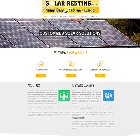 Solar Renting – Why buy if you can rent