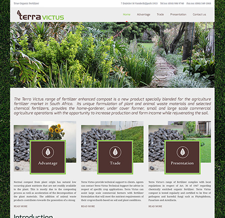 The Terra Victus – True Organic Fertilizer