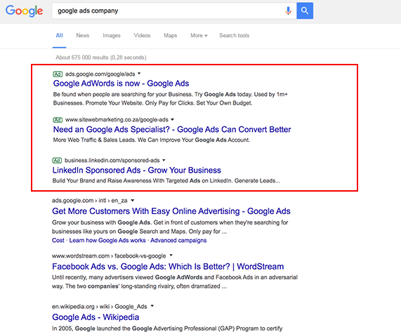 google-ads-search-results